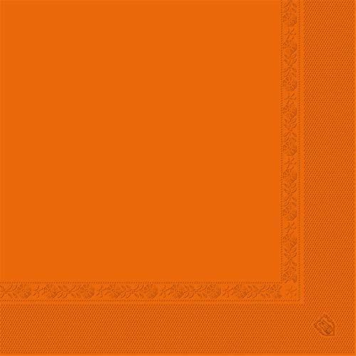 Garcia de Pou Serwetki 2 warstwy 18 g w pudełku, 40 x 40 cm, papier, pomarańczowe, 30 x 30 x 30 cm