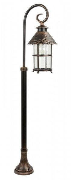 Lampa stojąca masztowa ozdobna 116cm TOLEDO K 5002/2/R miedź