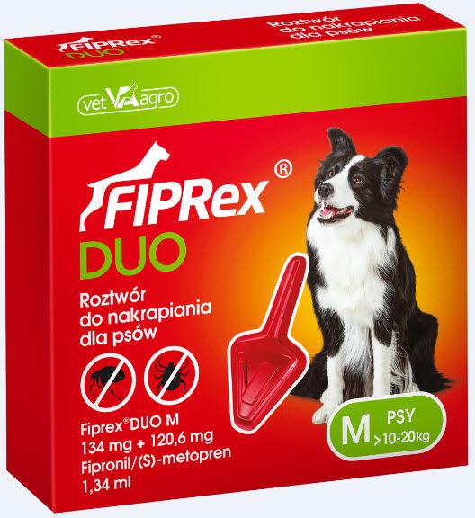 Fiprex Duo M DLA PSÓW od 10 do 20 kg