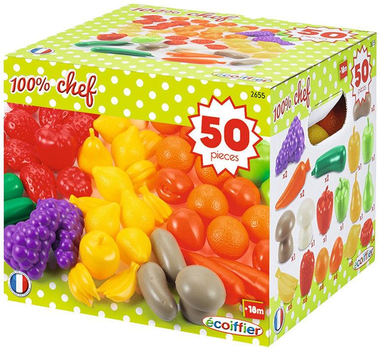 Ecoiffier - Zestaw warzyw i owoców 2655