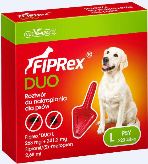 Fiprex  Duo L DLA PSÓW od 20 do 40 kg