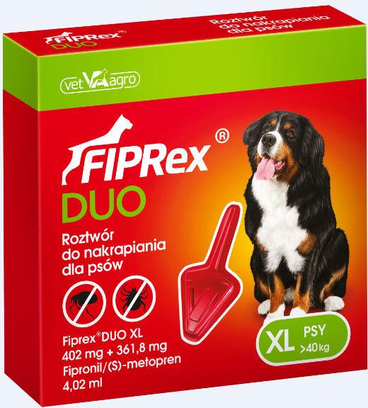 Fiprex  Duo XL DLA PSÓW powyżej 40 kg