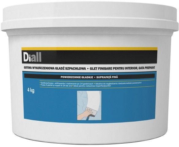 Gotowa gładź szpachlowa Diall do 2 mm 4 kg