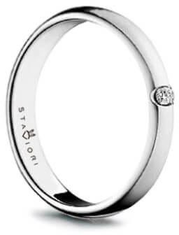 Złoty pierścionek PBD1518 - Diament