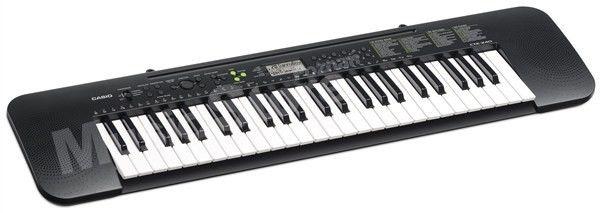 Casio CTK-240 Keyboard na początek dla dzieci
