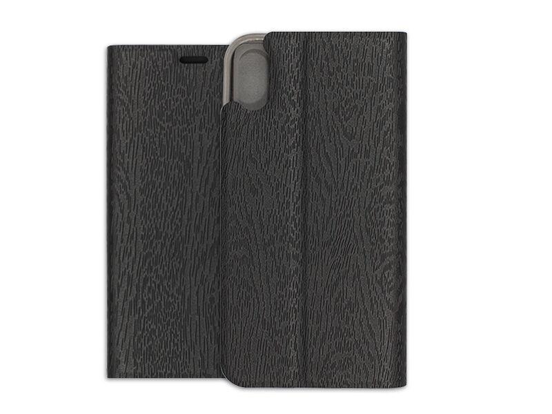 Apple iPhone XS - etui na telefon Flex Book - czarny