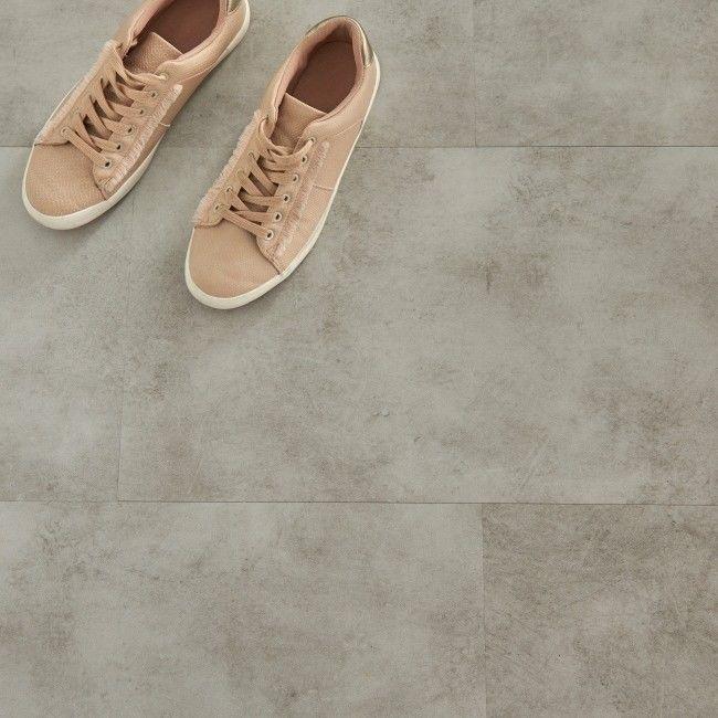 Panele podłogowe winylowe GoodHome 30,5 x 61 cm light grey concrete