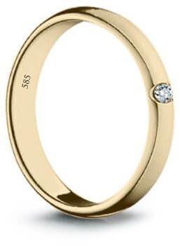 Złoty pierścionek PZD1518 - Diament