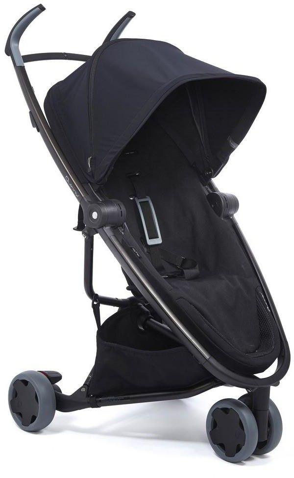 Quinny Zapp Flex Wózek spacerowy trójkołowy Black to black 1399991000