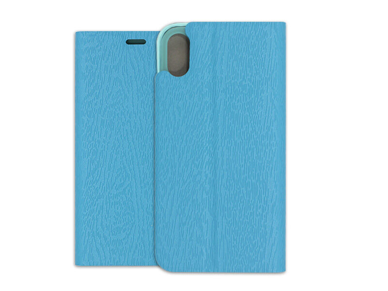 Apple iPhone XS - etui na telefon Flex Book - niebieski