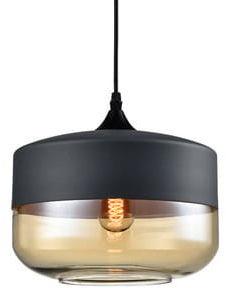 Orebro 3 Black - nowoczesna lampa wisząca czarna
