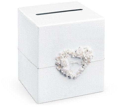 Pudełko weselne na koperty z życzeniami, prezentami 24x24x24cm PUDTM4