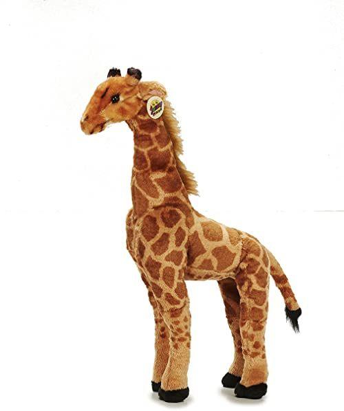 Sunny Toys 38009 - pluszowa żyrafa stojąca, około 64 cm