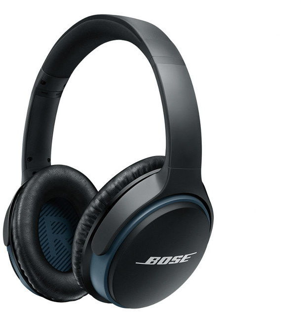 SoundLink around-ear słuchawki bezprzewodowe II czarne + PowerBank BOSE Gratis!