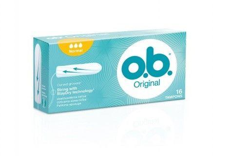 o.b.Tampony Original Normal 16szt