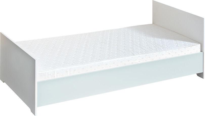 Łóżko tapczan jednoosobowy Classic NEW ATB z materacem