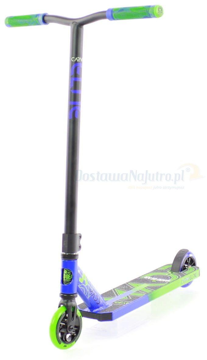 Hulajnoga wyczynowa Stunt Carve Elite 2020 MGP Madd Gear blue green