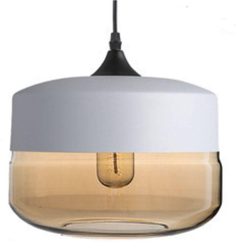 Orebro 3 White - nowoczesna lampa wisząca biała