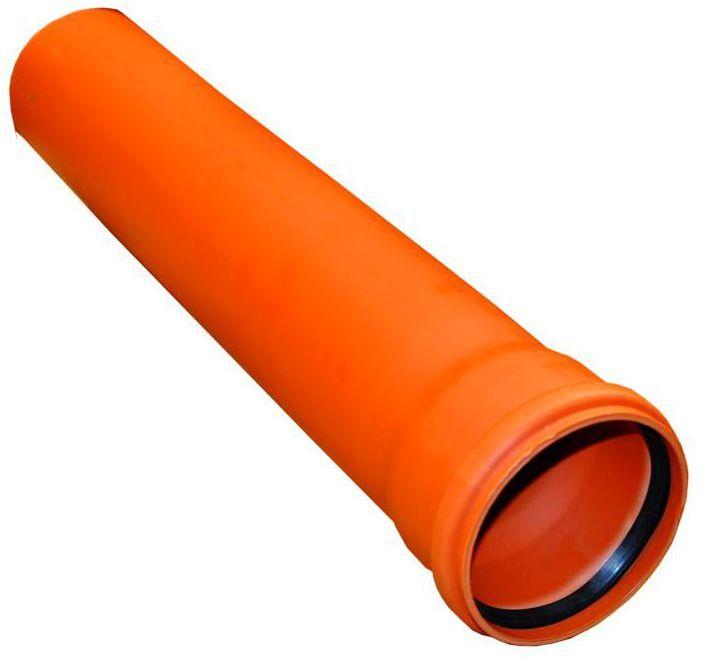 Rura kanalizacyjna zewnętrzna SN4 110 mm/0,5 m DREWPLAST