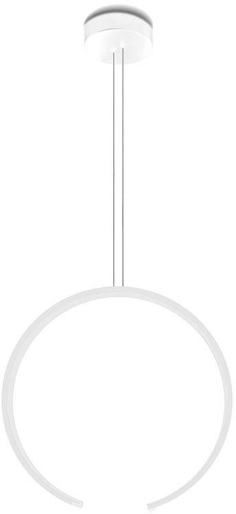 Lampa wisząca Olympic 0074.30 VIVIDA International niezwykła minimalistyczna lampa wisząca biała LED średnica 45 cm