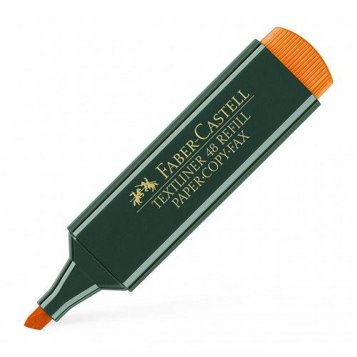 Zakreślacz FABER CASTELL Textliner 48 pomarańczowy 154815