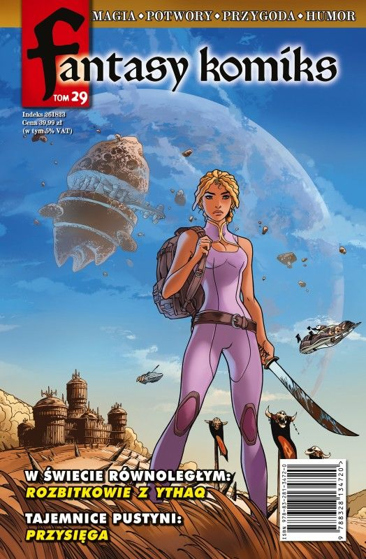 Fantasy Komiks Tom 29 ZAKŁADKA DO KSIĄŻEK GRATIS DO KAŻDEGO ZAMÓWIENIA