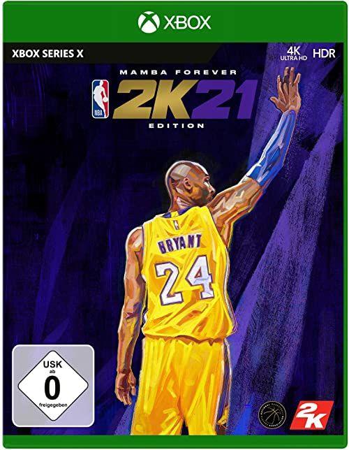 NBA 2K21 Legend Edition - [Xbox Series X]  wersja niemiecka