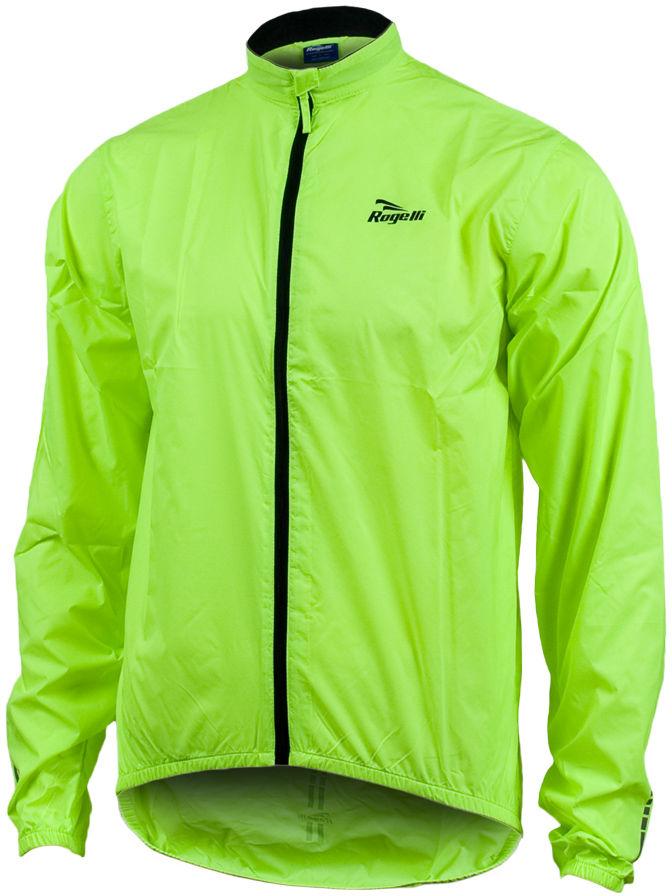ROGELLI ARIZONA - męska kurtka wiatrówka, kolor: Fluor Rozmiar: XL,rogelli-arizona-fluor