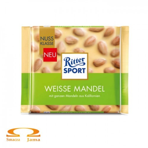 Czekolada Ritter Sport Weisse Mandel 100g
