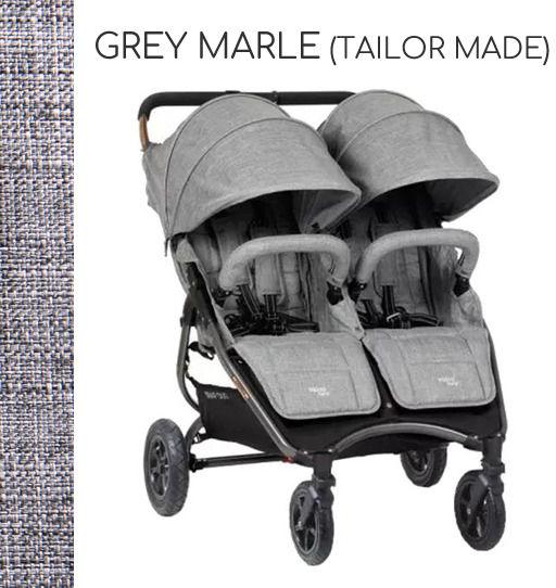 VALCO BABY SNAP DUO SPORT+GRATIS! DARMOWA DOSTAWA! ODBIÓR OSOBISTY! - Grey Marle (Tailor Made)