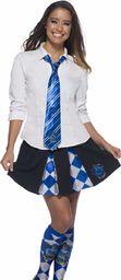 Rubie''s Oficjalny krawat Harry Potter Ravenclaw Deluxe, akcesoria kostiumowe dla dorosłych / dzieci jeden rozmiar wiek 6 lat