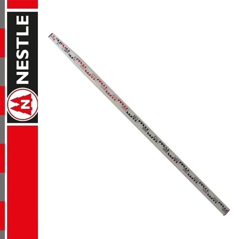 Łata niwelacyjna fiberglasowa 7,0m NESTLE