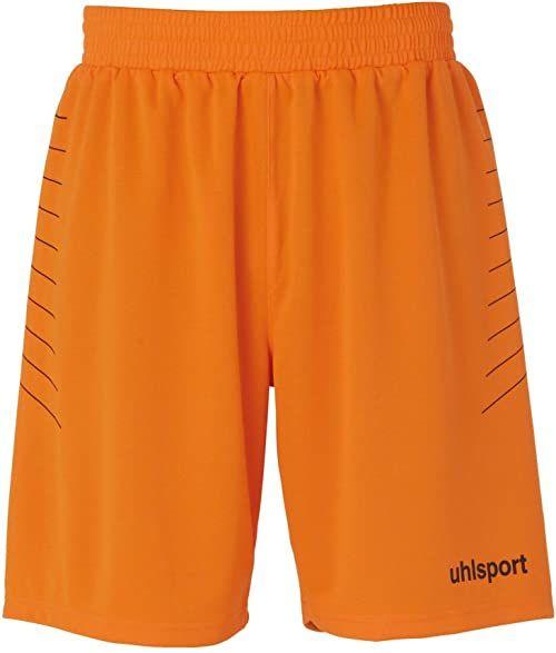 uhlsport Spodnie Match GK Shorts Fluo Orange/Schwarz S