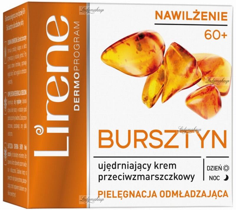 Lirene - BURSZTYN - Ujędrniający krem przeciwzmarszczkowy na dzień i na noc - 60+