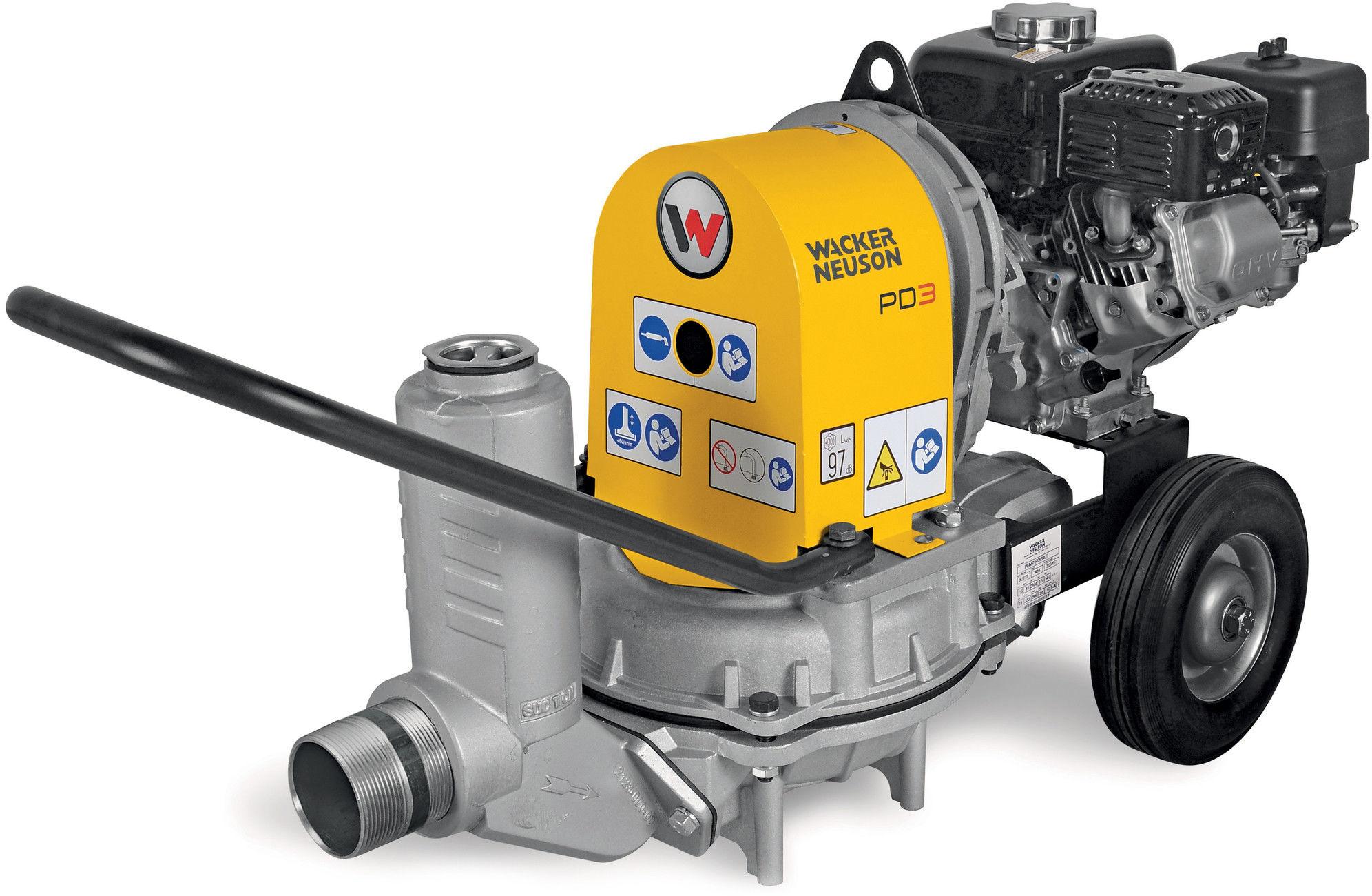 Motopompa do brudnej wody Wacker Neuson PDI 3A