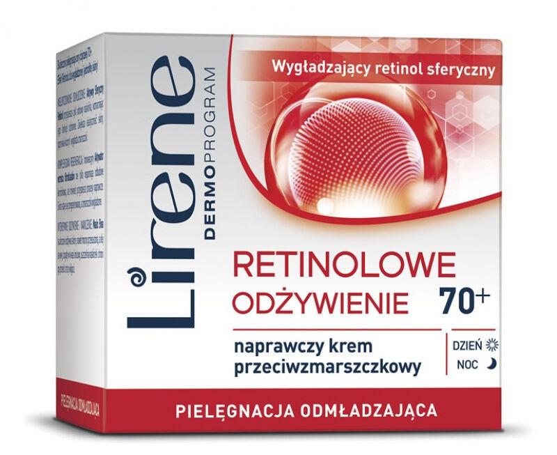 Lirene - Retinolowe Odżywienie - Naprawczy krem przeciwzmarszczkowy - 70+Lirene - Retinolowe Odżywienie - Naprawczy krem przeciwzmarszczkowy - 70+