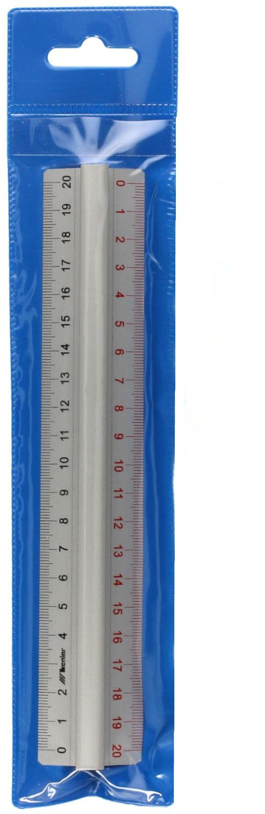 Linijka 20cm aluminium Leniar 30160
