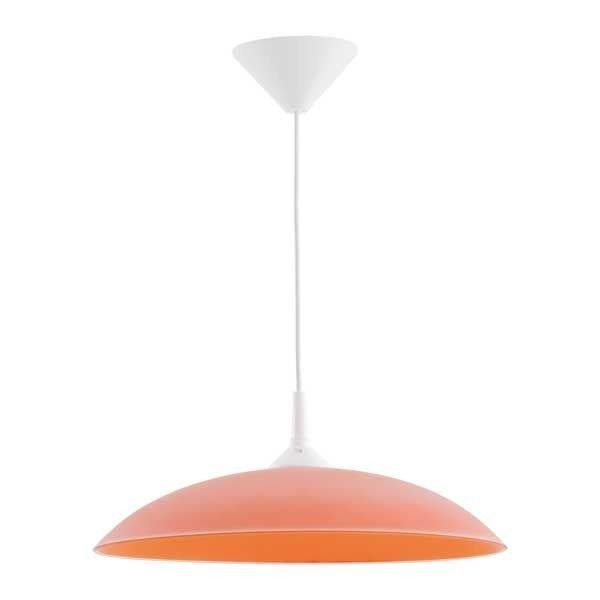 Lampa wisząca nowoczesna zwis MARTA pomarańczowy śr. 38cm