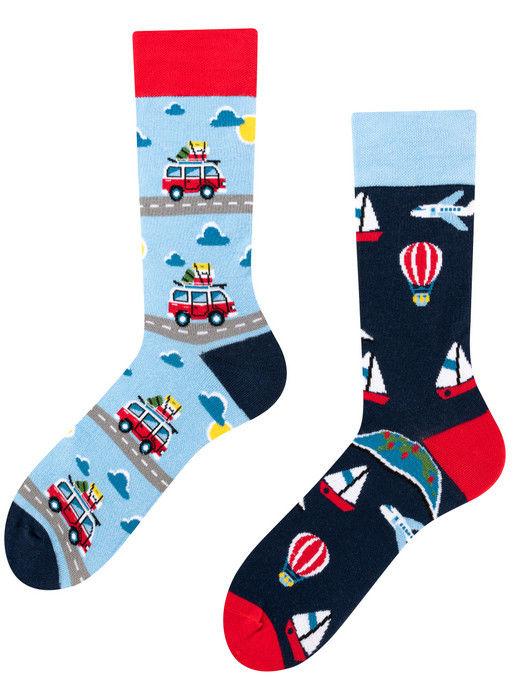 Adventure Socks, Todo Socks, Podróże, Pojazdy, Kolorowe Skarpetki
