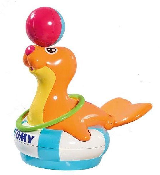Tomy - Foczka Sandy kręcąca piłką na nosie E72609