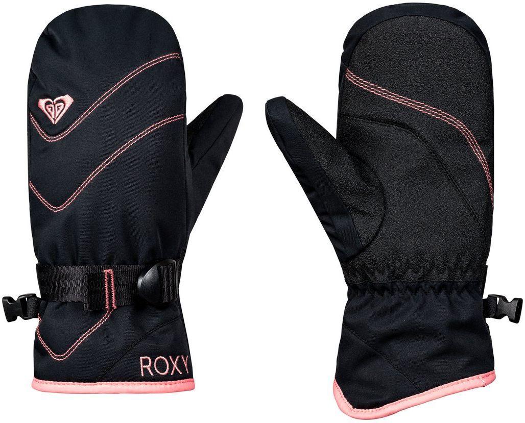 rękawiczki dziecięce ROXY JETTY SOLID GIRL MITT True Black - KVJ0