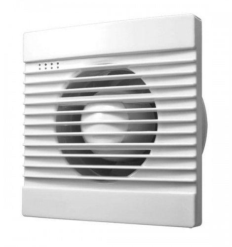 Wentylator łazienkowy, 230V/50Hz, 100mm, biały
