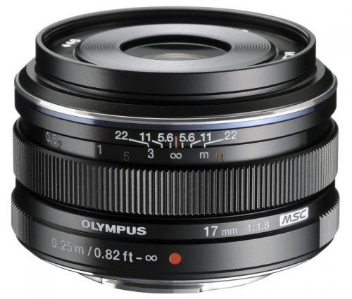 Obiektyw Olympus M.Zuiko 17mm f1.8 Czarny