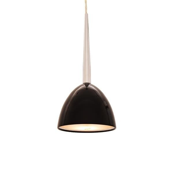 Lumina Deco Bora W1 czarna lampa wisząca
