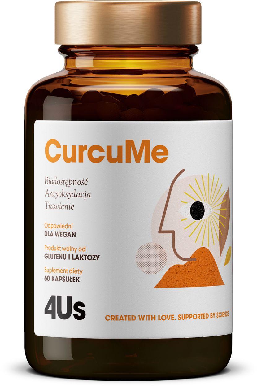Curcume 4Us Kurkumina + Piperyna (60 kaps) Health Labs Care
