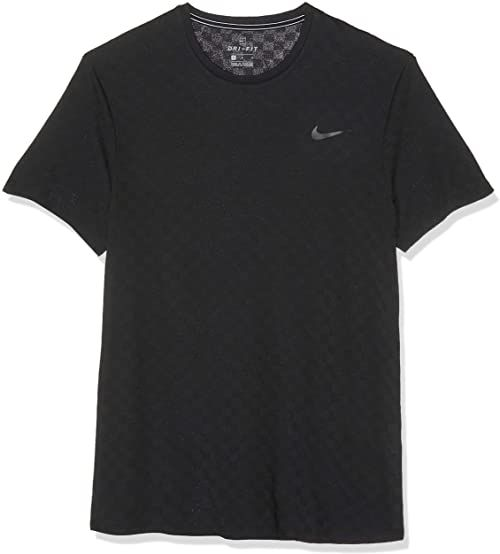 Nike męska M NKCT CHLLNGR TOP SS T-shirt, czarny/czarny, S