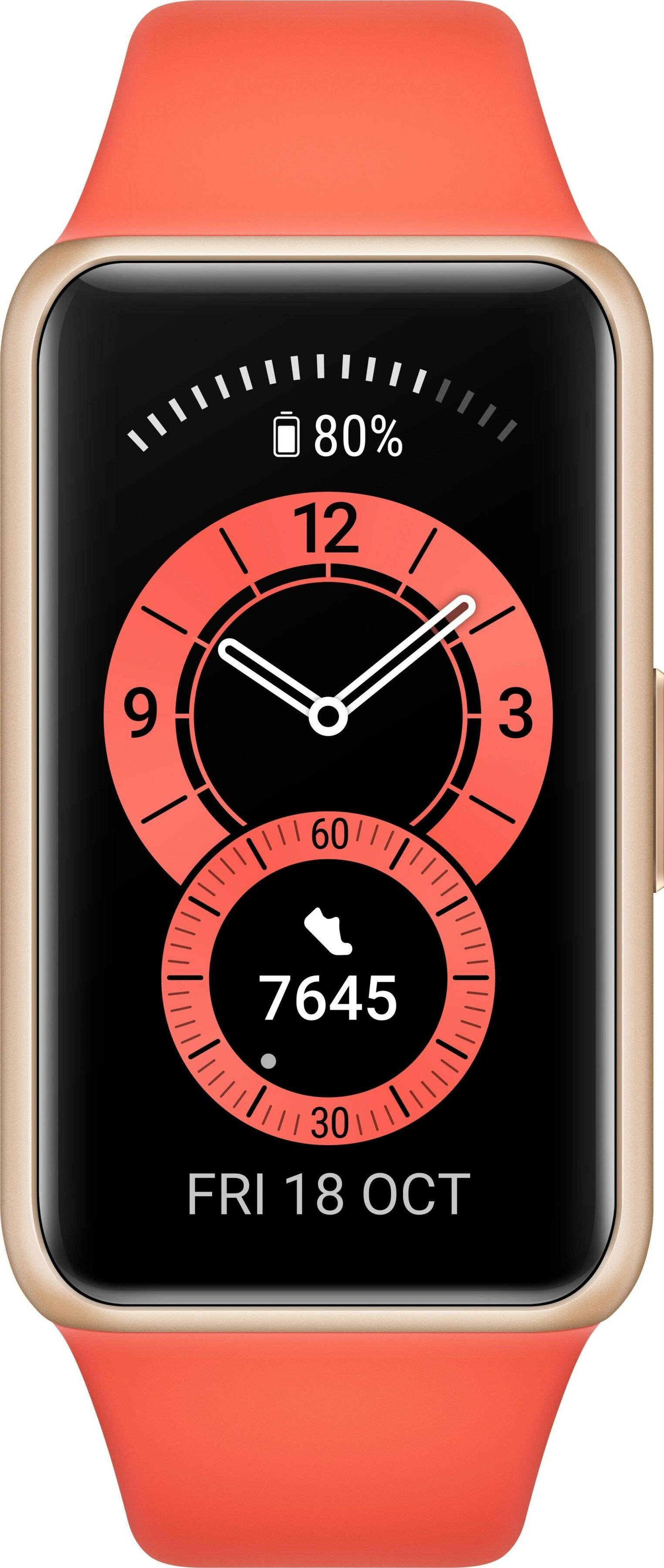 Smartband Huawei Band 6 (Pomarańczowy)