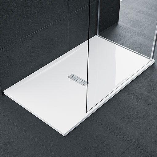 Novellini Custom Brodzik prostokątny 140x70x3,5cm biały CU140704-30 z możliwością docinania,