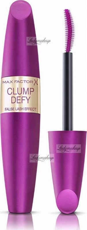 Max Factor - CLUMP DEFY - FALSE LASH EFFECT - Pogrubiająco-wydłużający tusz do rzęs - Black