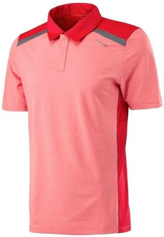 Head Vision Polo M - red